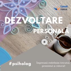 DEZVOLTARE personala - consult la psiholog-DUMITRU-POPESCU